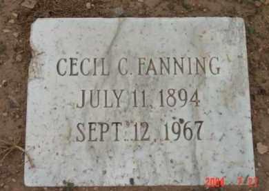 FANNING, CECIL C. - Yavapai County, Arizona   CECIL C. FANNING - Arizona Gravestone Photos