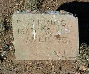 FANNING, FRANK - Yavapai County, Arizona   FRANK FANNING - Arizona Gravestone Photos