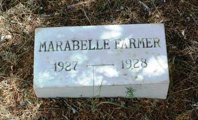 FARMER, MARABELLE IOLA - Yavapai County, Arizona   MARABELLE IOLA FARMER - Arizona Gravestone Photos