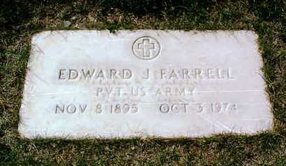 FARRELL, EDWARD J. - Yavapai County, Arizona | EDWARD J. FARRELL - Arizona Gravestone Photos