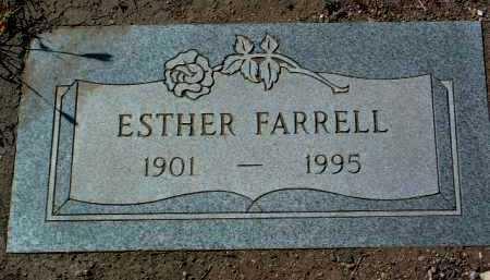 FARRELL, ESTHER - Yavapai County, Arizona | ESTHER FARRELL - Arizona Gravestone Photos