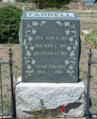 PEALE FARRELL, MARY E. - Yavapai County, Arizona | MARY E. PEALE FARRELL - Arizona Gravestone Photos