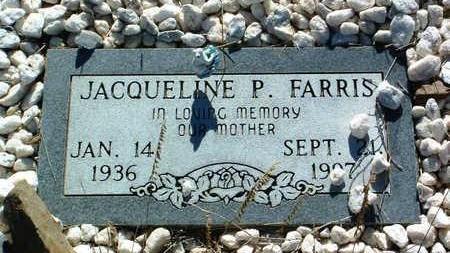 ANDREWS FARRIS, JACQUELINE PEARL (JACKIE) - Yavapai County, Arizona | JACQUELINE PEARL (JACKIE) ANDREWS FARRIS - Arizona Gravestone Photos