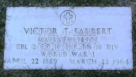 FAUBERT, VICTOR THEO - Yavapai County, Arizona | VICTOR THEO FAUBERT - Arizona Gravestone Photos