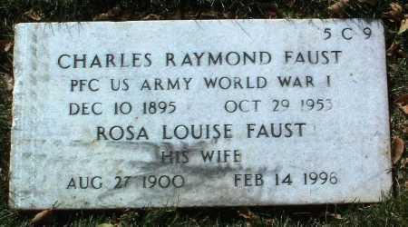 FAUST, CHARLES RAYMOND - Yavapai County, Arizona | CHARLES RAYMOND FAUST - Arizona Gravestone Photos