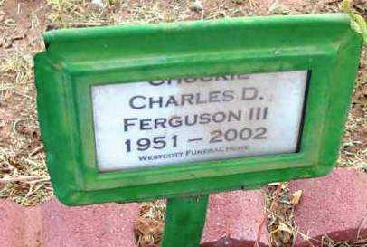 FERGUSON, CHARLES D. - Yavapai County, Arizona | CHARLES D. FERGUSON - Arizona Gravestone Photos