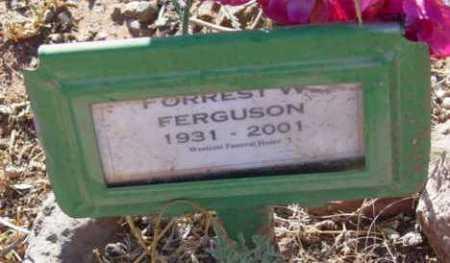 FERGUSON, FORREST WAYNE - Yavapai County, Arizona | FORREST WAYNE FERGUSON - Arizona Gravestone Photos
