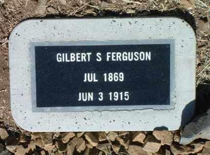 FERGUSON, GILBERT S. - Yavapai County, Arizona | GILBERT S. FERGUSON - Arizona Gravestone Photos