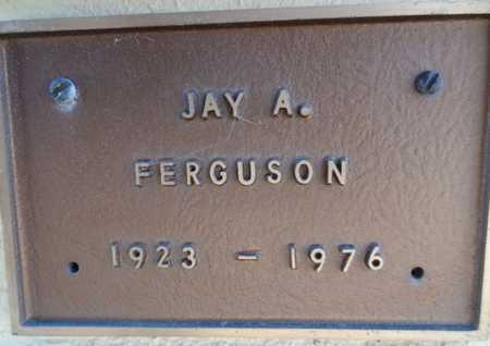FERGUSON, JAY ARNOLD - Yavapai County, Arizona   JAY ARNOLD FERGUSON - Arizona Gravestone Photos