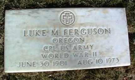 FERGUSON, LUKE M. - Yavapai County, Arizona   LUKE M. FERGUSON - Arizona Gravestone Photos