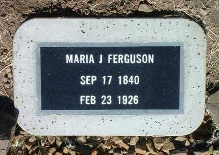 FERGUSON, MARIA JESUS - Yavapai County, Arizona | MARIA JESUS FERGUSON - Arizona Gravestone Photos