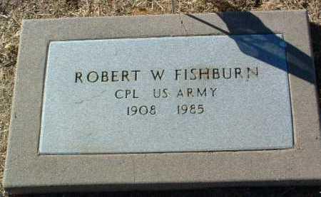 FISHBURN, ROBERT W. - Yavapai County, Arizona | ROBERT W. FISHBURN - Arizona Gravestone Photos