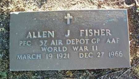 FISHER, ALLEN J. - Yavapai County, Arizona | ALLEN J. FISHER - Arizona Gravestone Photos