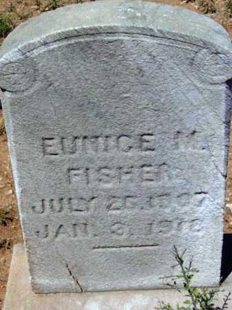 FISHER, EUNICE M. - Yavapai County, Arizona | EUNICE M. FISHER - Arizona Gravestone Photos