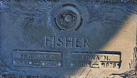 FISHER, EDNA M. - Yavapai County, Arizona | EDNA M. FISHER - Arizona Gravestone Photos