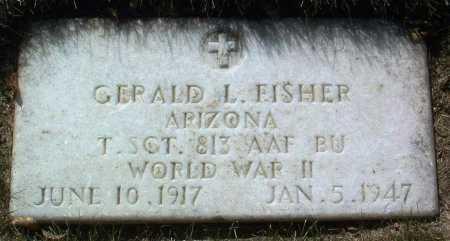 FISHER, GERALD LEON - Yavapai County, Arizona | GERALD LEON FISHER - Arizona Gravestone Photos