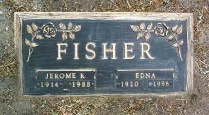 FISHER, JEROME R. - Yavapai County, Arizona   JEROME R. FISHER - Arizona Gravestone Photos