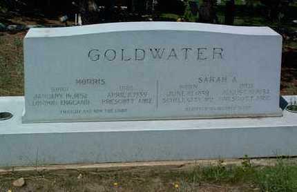 SHIVERS GOLDWATER, S. - Yavapai County, Arizona | S. SHIVERS GOLDWATER - Arizona Gravestone Photos