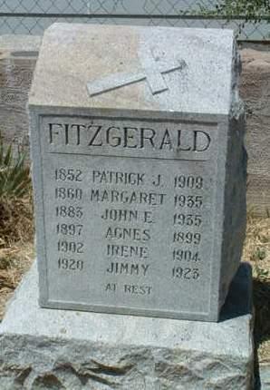 FITZGERALD, AGNES - Yavapai County, Arizona   AGNES FITZGERALD - Arizona Gravestone Photos