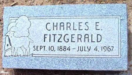 FITZGERALD, CHARLES E. - Yavapai County, Arizona | CHARLES E. FITZGERALD - Arizona Gravestone Photos