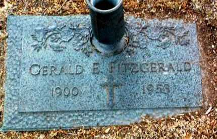 FITZGERALD, GERALD E. - Yavapai County, Arizona   GERALD E. FITZGERALD - Arizona Gravestone Photos