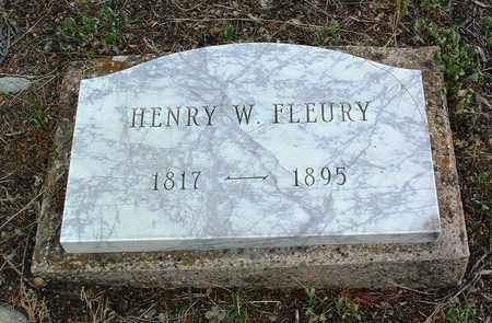 FLEURY, HENRY WILLIAM - Yavapai County, Arizona   HENRY WILLIAM FLEURY - Arizona Gravestone Photos