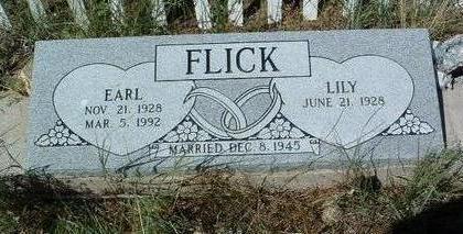 FLICK, LILY - Yavapai County, Arizona | LILY FLICK - Arizona Gravestone Photos