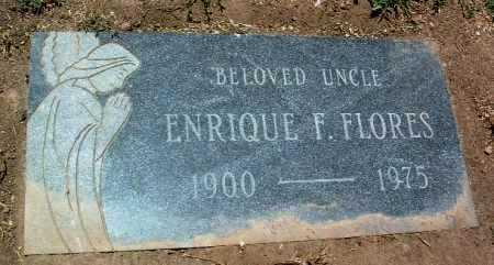 FLORES, ENRIQUE F. - Yavapai County, Arizona   ENRIQUE F. FLORES - Arizona Gravestone Photos