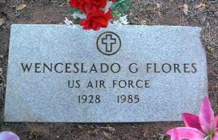 FLORES, WENCESLADO G. - Yavapai County, Arizona | WENCESLADO G. FLORES - Arizona Gravestone Photos