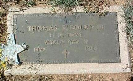 FOLEY, THOMAS FRANCIS,  III - Yavapai County, Arizona | THOMAS FRANCIS,  III FOLEY - Arizona Gravestone Photos