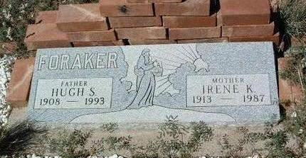 FORAKER, IRENE K. - Yavapai County, Arizona | IRENE K. FORAKER - Arizona Gravestone Photos