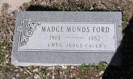 FORD, MADGE MARSHALL - Yavapai County, Arizona | MADGE MARSHALL FORD - Arizona Gravestone Photos