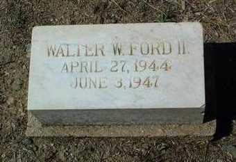 FORD, WALTER WILLIAM, II - Yavapai County, Arizona | WALTER WILLIAM, II FORD - Arizona Gravestone Photos