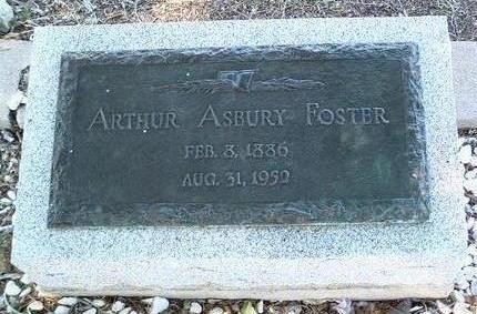FOSTER, ARTHUR ASBURY - Yavapai County, Arizona | ARTHUR ASBURY FOSTER - Arizona Gravestone Photos