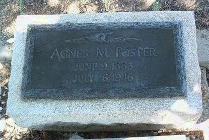 FOSTER, AGNES MAE - Yavapai County, Arizona   AGNES MAE FOSTER - Arizona Gravestone Photos
