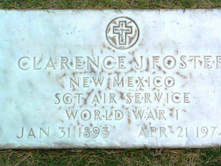 FOSTER, CLARENCE J. - Yavapai County, Arizona | CLARENCE J. FOSTER - Arizona Gravestone Photos