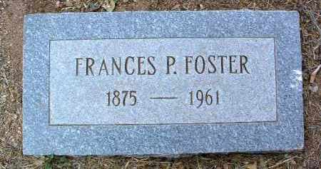 FOSTER, FRANCES PAMELIA - Yavapai County, Arizona   FRANCES PAMELIA FOSTER - Arizona Gravestone Photos