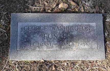 FOSTER, GEORGE W. - Yavapai County, Arizona   GEORGE W. FOSTER - Arizona Gravestone Photos