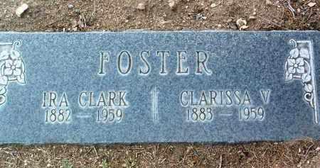 FOSTER, IRA CLARK - Yavapai County, Arizona | IRA CLARK FOSTER - Arizona Gravestone Photos