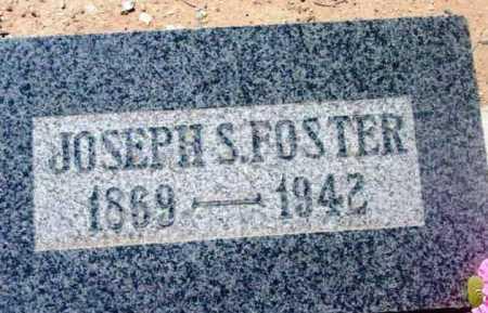 FOSTER, JOSEPH S. - Yavapai County, Arizona | JOSEPH S. FOSTER - Arizona Gravestone Photos