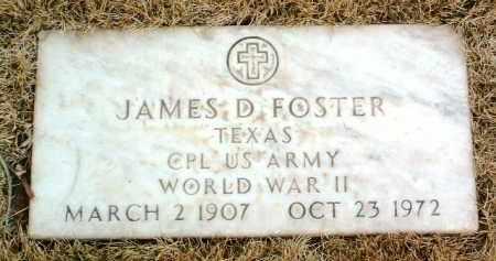 FOSTER, JAMES D. - Yavapai County, Arizona | JAMES D. FOSTER - Arizona Gravestone Photos
