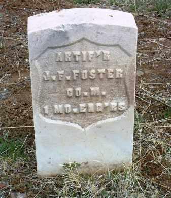 FOSTER, JOHN FRANKLIN - Yavapai County, Arizona | JOHN FRANKLIN FOSTER - Arizona Gravestone Photos