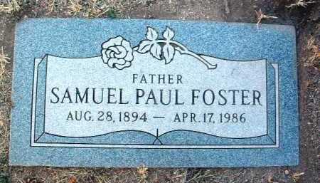 FOSTER, SAMUEL PAUL - Yavapai County, Arizona | SAMUEL PAUL FOSTER - Arizona Gravestone Photos