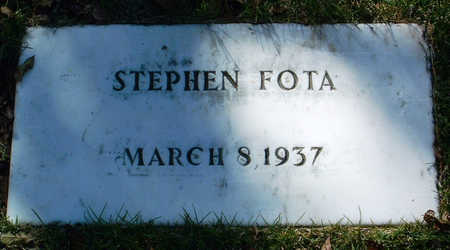 FOTA, STEPHEN - Yavapai County, Arizona | STEPHEN FOTA - Arizona Gravestone Photos