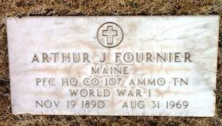 FOURNIER, ARTHUR JOSEPH - Yavapai County, Arizona | ARTHUR JOSEPH FOURNIER - Arizona Gravestone Photos
