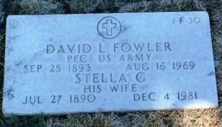 FOWLER, STELLA G. - Yavapai County, Arizona | STELLA G. FOWLER - Arizona Gravestone Photos