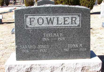 FOWLER, EDNA M. - Yavapai County, Arizona   EDNA M. FOWLER - Arizona Gravestone Photos
