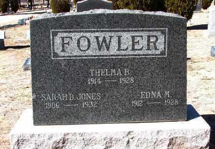FOWLER, THELMA B. - Yavapai County, Arizona | THELMA B. FOWLER - Arizona Gravestone Photos