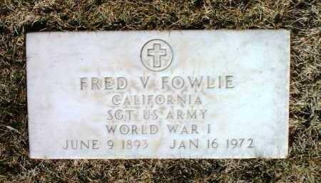 FOWLIE, FRED VERNON - Yavapai County, Arizona | FRED VERNON FOWLIE - Arizona Gravestone Photos