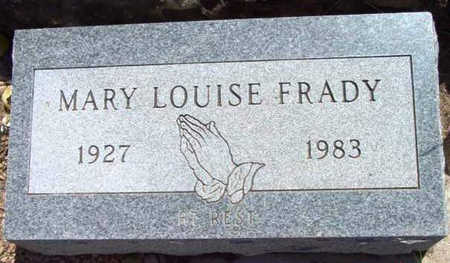 FRADY, MARY LOUISE - Yavapai County, Arizona | MARY LOUISE FRADY - Arizona Gravestone Photos